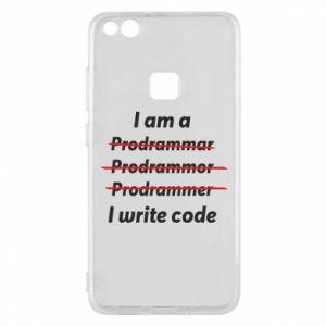Phone case for Huawei P10 Lite I write code