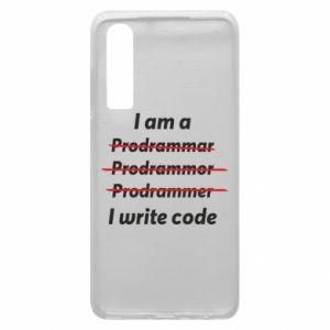 Phone case for Huawei P30 I write code