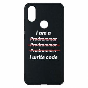 Phone case for Xiaomi Mi A2 I write code