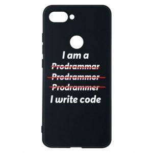Phone case for Xiaomi Mi8 Lite I write code