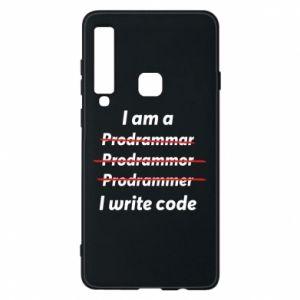 Phone case for Samsung A9 2018 I write code