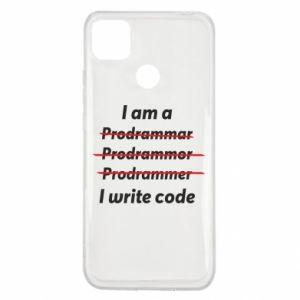 Etui na Xiaomi Redmi 9c I write code