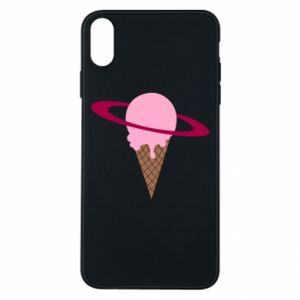 Phone case for iPhone Xs Max Ice cream planet