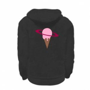 Bluza na zamek dziecięca Ice cream planet