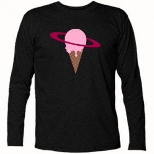 Koszulka z długim rękawem Ice cream planet - PrintSalon