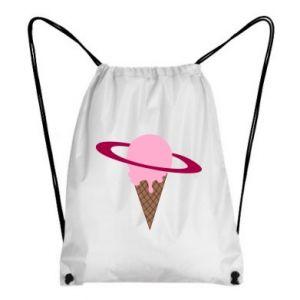 Plecak-worek Ice cream planet - PrintSalon