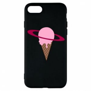 Phone case for iPhone 7 Ice cream planet