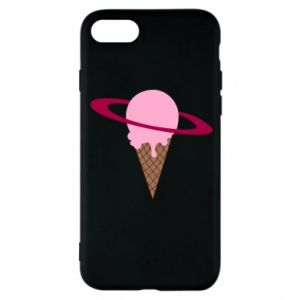 Phone case for iPhone 8 Ice cream planet