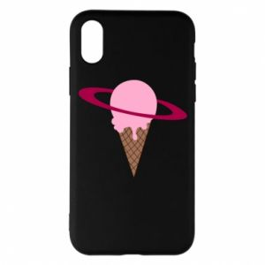 Phone case for iPhone X/Xs Ice cream planet