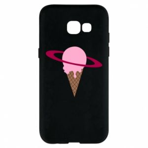 Phone case for Samsung A5 2017 Ice cream planet