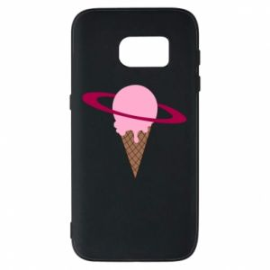 Phone case for Samsung S7 Ice cream planet