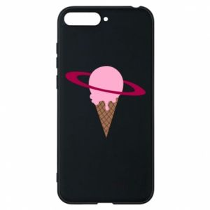 Phone case for Huawei Y6 2018 Ice cream planet