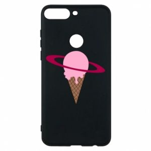Phone case for Huawei Y7 Prime 2018 Ice cream planet