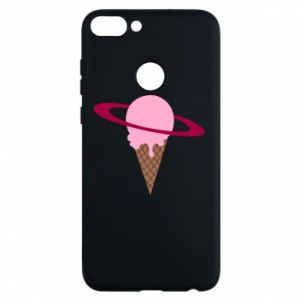 Phone case for Huawei P Smart Ice cream planet