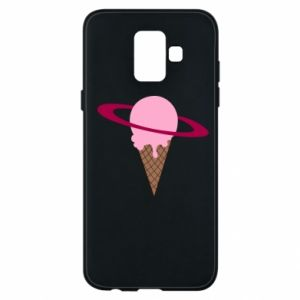 Phone case for Samsung A6 2018 Ice cream planet