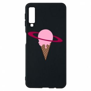 Phone case for Samsung A7 2018 Ice cream planet