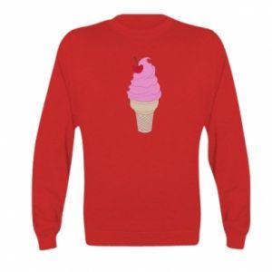 Bluza dziecięca Ice cream with cherry