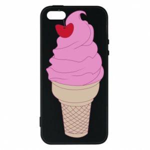 Phone case for iPhone 5/5S/SE Ice cream with cherry