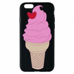 Phone case for iPhone 6/6S Ice cream with cherry
