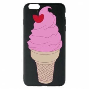 Phone case for iPhone 6 Plus/6S Plus Ice cream with cherry