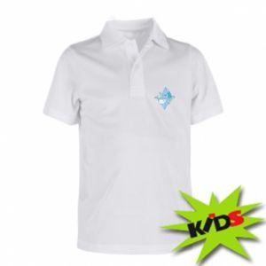 Dziecięca koszulka polo Ice floe