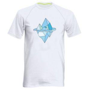 Męska koszulka sportowa Ice floe