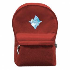 Plecak z przednią kieszenią Ice floe