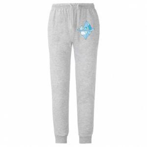 Męskie spodnie lekkie Ice floe