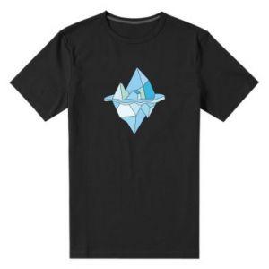 Męska premium koszulka Ice floe