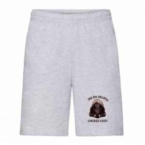 Men's shorts I'm going to the store