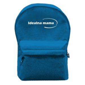 Plecak z przednią kieszenią Idealna mama