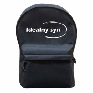 Backpack with front pocket Perfect son - PrintSalon