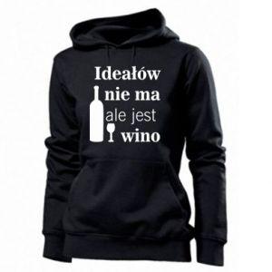 Damska bluza Ideałów nie ma, ale jest wino