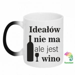 Kubek-kameleon Ideałów nie ma, ale jest wino