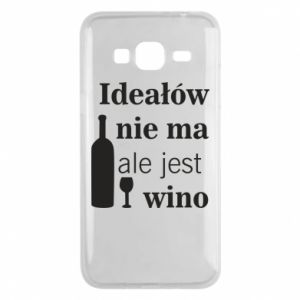 Phone case for Samsung J3 2016 There are no ideals, but there is wine - PrintSalon