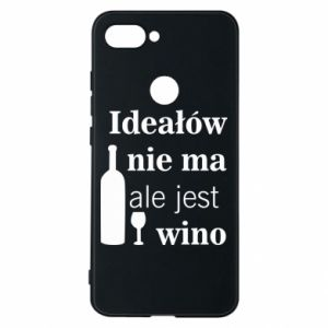 Phone case for Xiaomi Mi8 Lite There are no ideals, but there is wine - PrintSalon