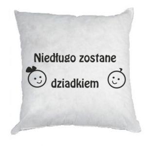 Pillow I will be grandpa soon