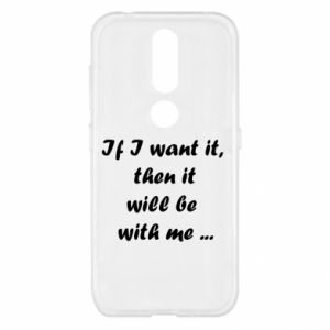 Etui na Nokia 4.2 If I want it,  then it will be  with me ...