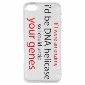 Etui na iPhone 5/5S/SE If I were an enzime