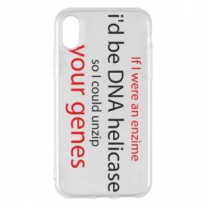 Etui na iPhone X/Xs If I were an enzime