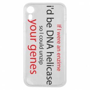 Etui na iPhone XR If I were an enzime