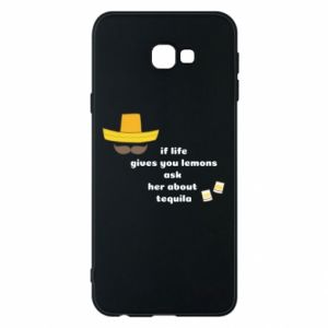 Etui na Samsung J4 Plus 2018 If life gives you lemons ask her about tequila