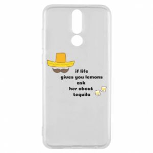 Etui na Huawei Mate 10 Lite If life gives you lemons ask her about tequila