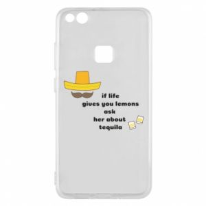 Etui na Huawei P10 Lite If life gives you lemons ask her about tequila