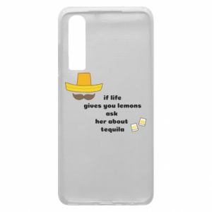 Etui na Huawei P30 If life gives you lemons ask her about tequila