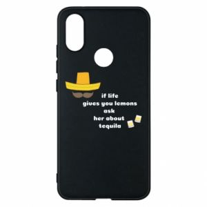 Etui na Xiaomi Mi A2 If life gives you lemons ask her about tequila