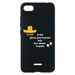 Etui na Xiaomi Redmi 6A If life gives you lemons ask her about tequila