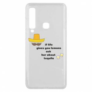 Etui na Samsung A9 2018 If life gives you lemons ask her about tequila