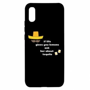 Etui na Xiaomi Redmi 9a If life gives you lemons ask her about tequila