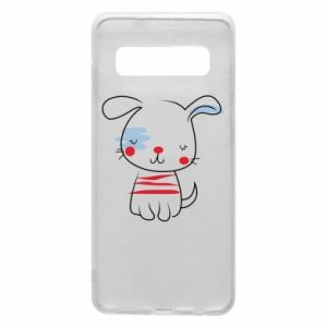 Phone case for Samsung S10 Doggy illustration